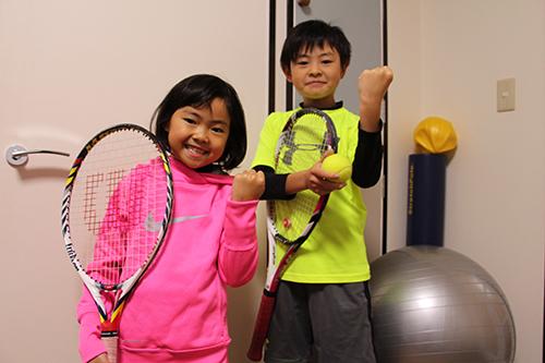 テニスがんばるぞ!