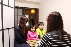 子供達への栄養指導